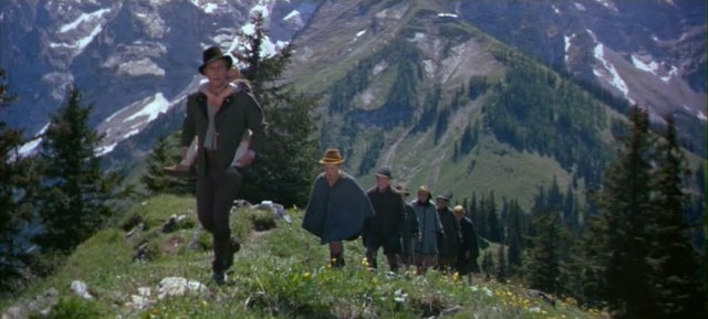 Sound of Music escape scene